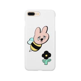 ウサギバチくん Smartphone cases