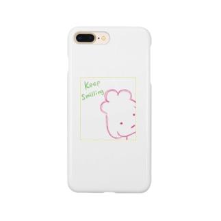 スマイルぷーどる Smartphone cases