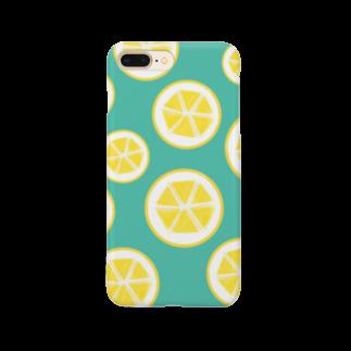 Favoriのレモン Smartphone cases