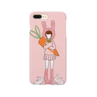 にんじんやさん Smartphone cases