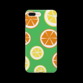Favoriのオレンジとレモンと時々ミント。 Smartphone cases