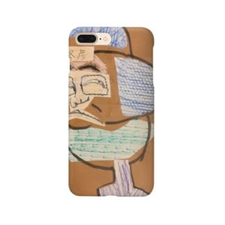 冬彦と魚と鳥の融合 Smartphone cases