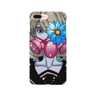 ガスマスクガール Smartphone cases
