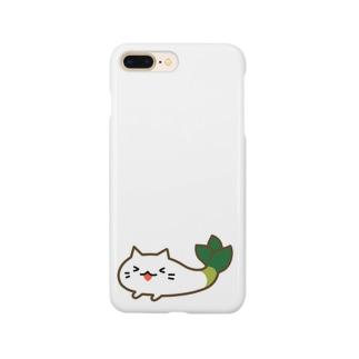 たのちい下仁田ネギねこ  Smartphone cases