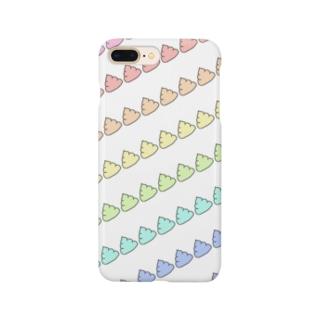カラフルうんちスマホケース Smartphone cases