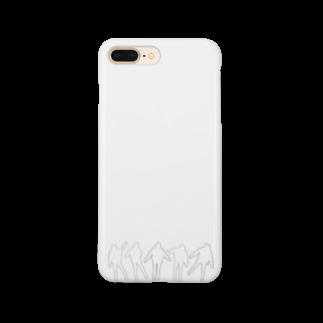 YoSHiKaのたまゆらシリーズ(モノクロ) Smartphone cases