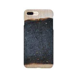 焦げたパン Smartphone cases
