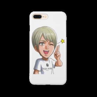 SQUARE-Osaka-のオリジナルグッズ by 美影瑚珀 Smartphone cases