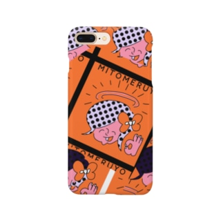 MITOMERUYO pattern Smartphone cases