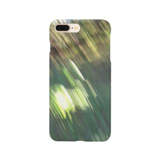 森にて手ブレ Smartphone cases