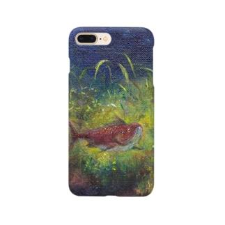 ムラナギ/レッドムーンの夜 Smartphone cases