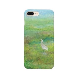 ムラナギ/白鷺 Smartphone cases