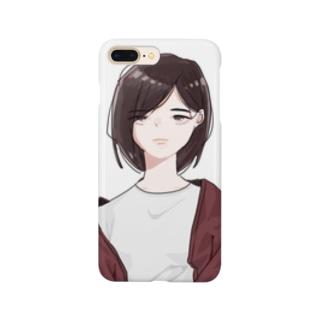 きだる女子 Smartphone cases