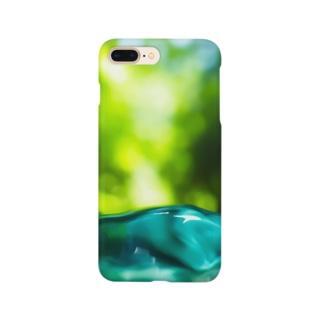森のしずく Smartphone cases