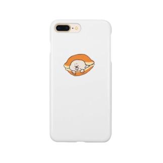 あずきクリームどらやきいぬ Smartphone cases