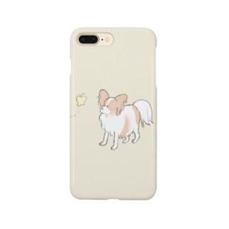 パピヨンちゃん Smartphone cases