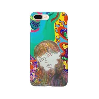 うにゃうにゃ女の子 Smartphone cases