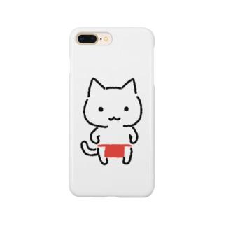 ねこふんどし Smartphone cases