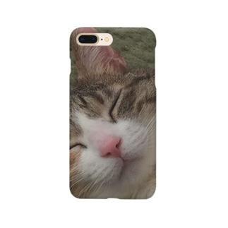 家の猫さん Smartphone cases