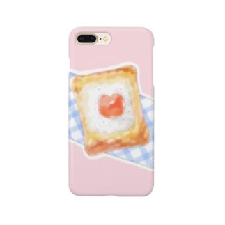 マヨたまトースト×PINK Smartphone cases
