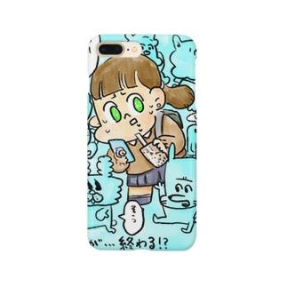 平成女子慄く。 Smartphone cases