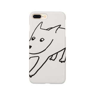 ドン引き犬。 Smartphone cases