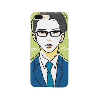 シチサンビジネスマン Smartphone cases