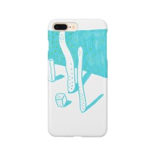 にょろの静物 Smartphone cases