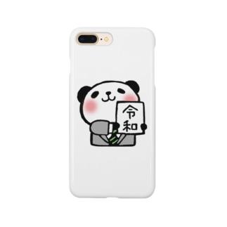 令和パンダ Smartphone cases