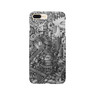 えんぴつけーす Smartphone cases