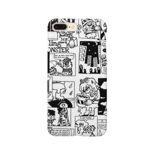 アメコミ風MONSTER Smartphone cases