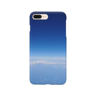 空の上から Smartphone cases