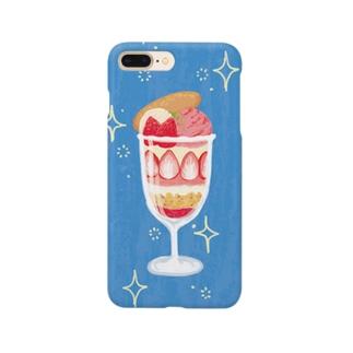 いちごパフェ Smartphone cases