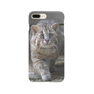 ツシマヤマネコの福馬くん Smartphone cases