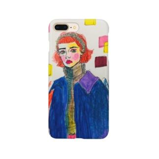 赤髪ちゃん。 Smartphone cases