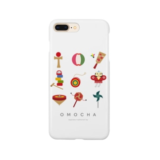 OMOCHA〜Japanese traditional toy〜 Smartphone cases