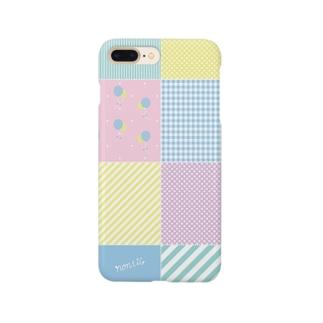 パステルパッチワーク Smartphone cases