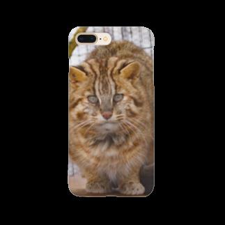 ねこりんショップのツシマヤマネコ Smartphone cases
