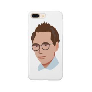 メガネのおじさん Smartphone cases