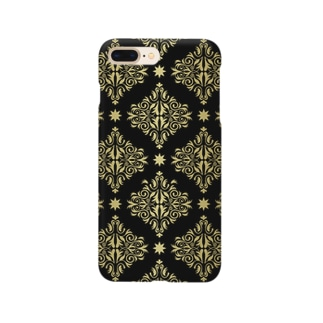 ダマスク柄のスマホケース Smartphone cases