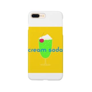 cream soda Smartphone cases