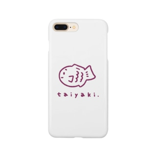 たい焼きグッズ(あずき) Smartphone cases