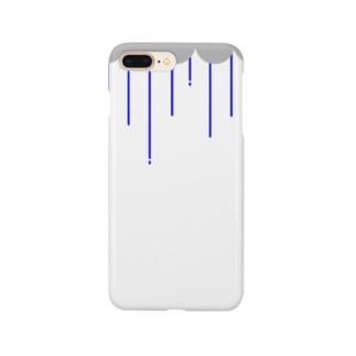 雨の日(青) Smartphone cases