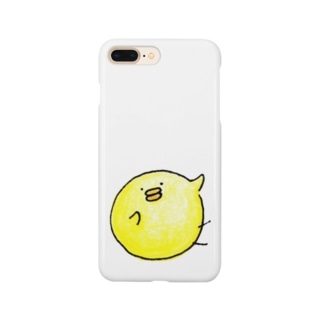 SNGピヨコ研究所のロゴ(布向け) Smartphone cases