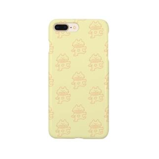 へんてこねこ(あか) Smartphone cases
