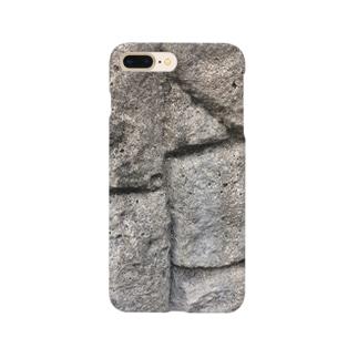 石壁スマホケース Smartphone cases