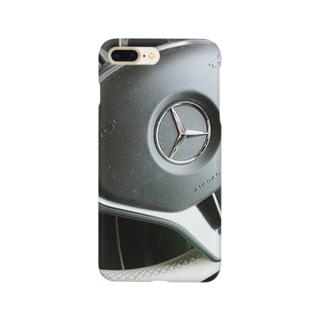 ハンドル(ベンツ) Smartphone cases
