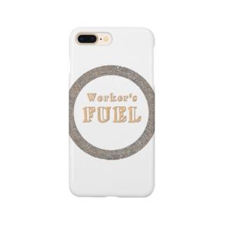 仕事の燃料 Smartphone cases
