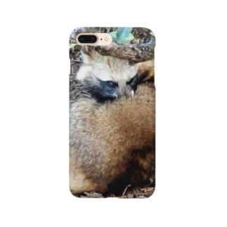 ホンドタヌキ Smartphone cases