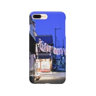 路地裏の鯉のぼり Smartphone cases